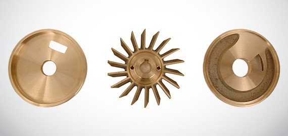 self priming impeller set